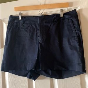 Banana Republic Martin Fit Navy Shorts, Size 12